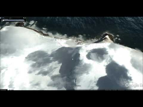 Bouvet Island Tour Helicopter View 2008 Best View