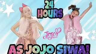 24 Hours As JoJo Siwa! Playing Granny With JoJo Siwa
