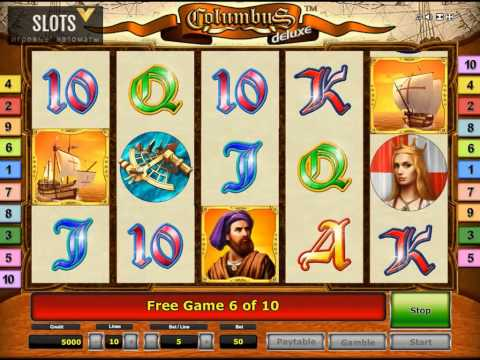 Видео Игровой автомат колумбус играть онлайн