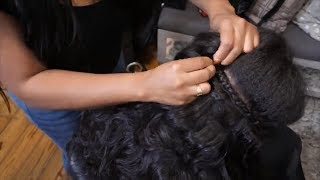 How to install Braid In Bundles!? Full weave NO Glue, Thread, or Clips!