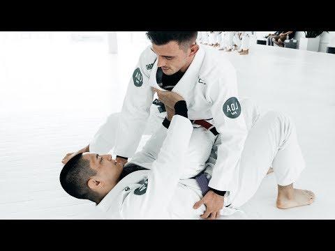 Nick Bohli | Elbow Control Armbar from Knee on Belly | artofjiujitsu.com