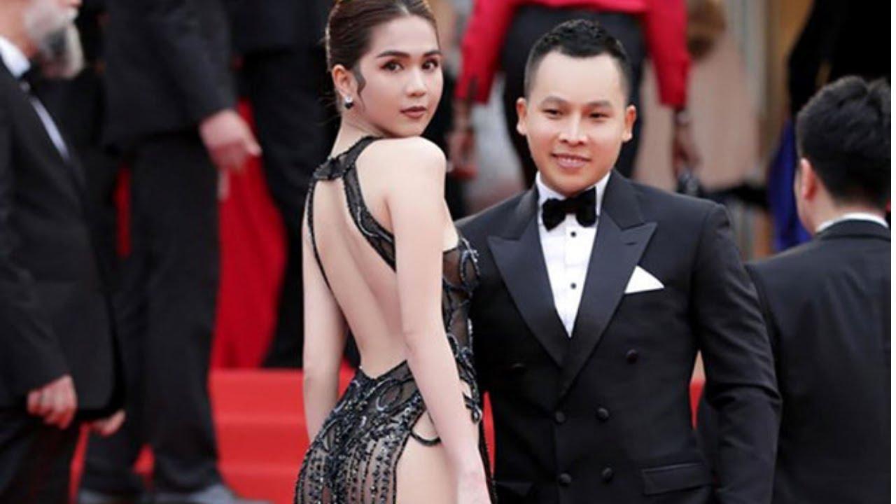 Cận Cảnh Ngọc Trinh Mặc Váy Xuyên Thấu  Tham Dự LHP Cannes 2019   Mặc Mà Như Không Mặc