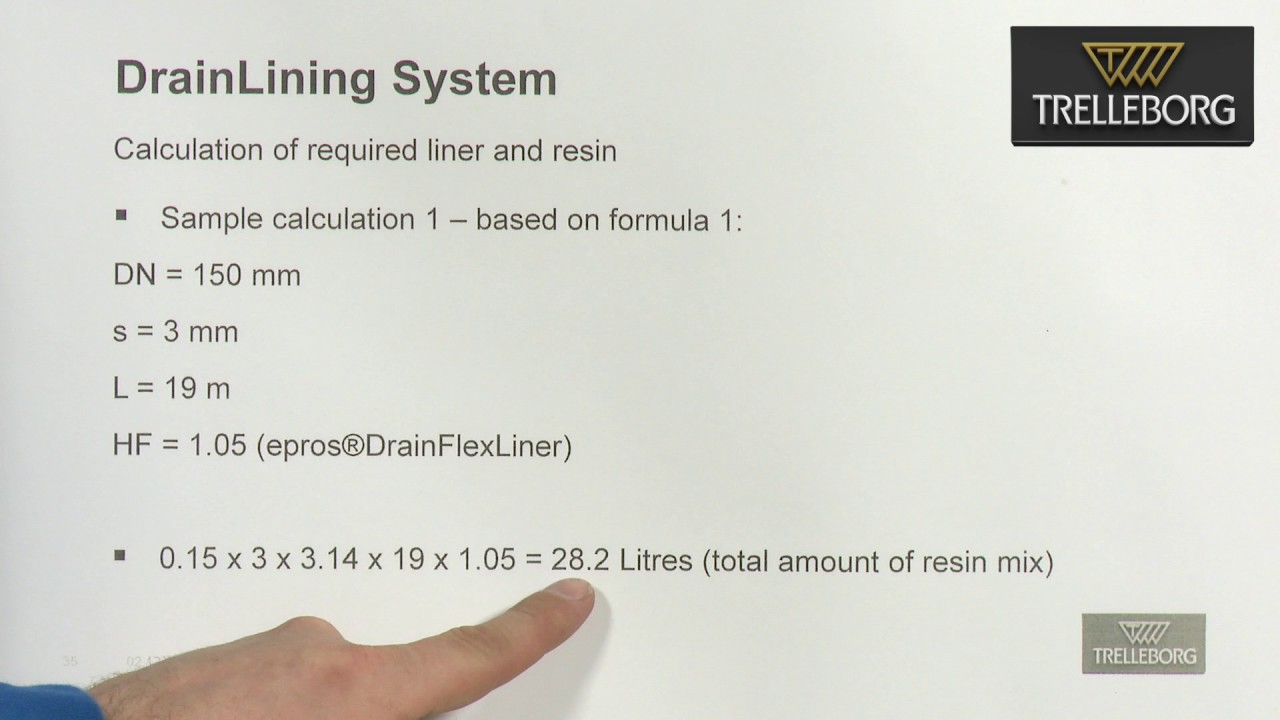 How to calculate the correct amount of resin with the help of our technical  data sheets
