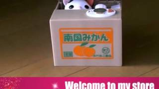 Automated Cat Steal Coin Piggy Kitty Saving Money Box Bank, Kids Gift,Novelty Toys