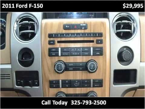 2011 ford f 150 used cars abilene tx youtube. Black Bedroom Furniture Sets. Home Design Ideas