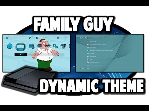 [PS4 THEMES] Family Guy Dynamic Theme Video In 60FPS