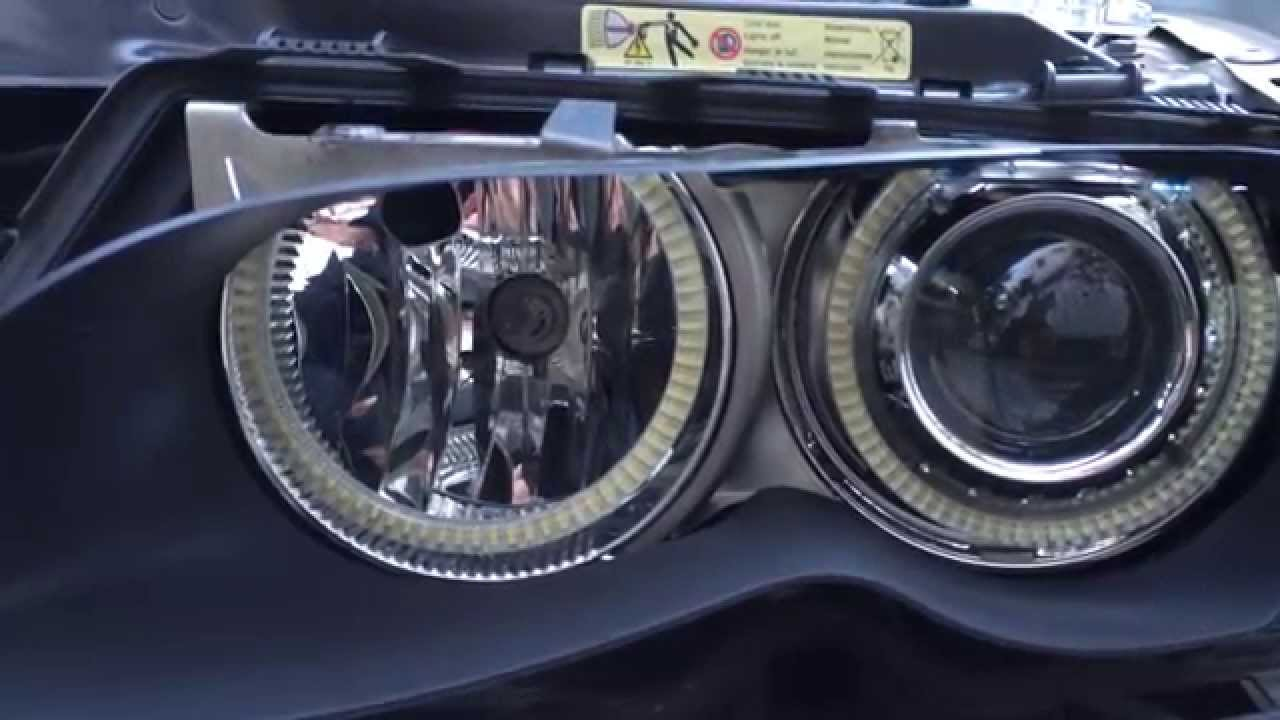 bmw e46 headlight adjustment not working