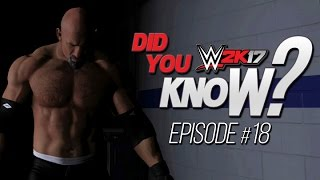 WWE 2K17 Did You Know? Walls of Jericho Reversals, CM Punk Easter Eggs & More! (Episode 18)