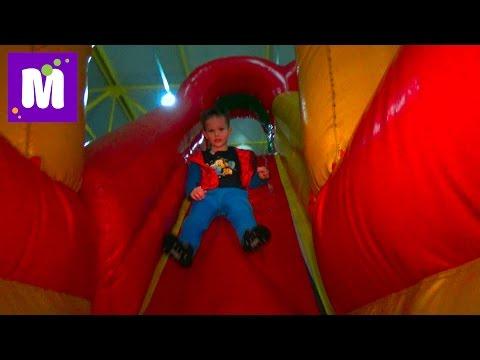 VLOG Волшебный Мир развлекательный центр катаемся с горок kids indoor intertainment center