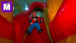 VLOG Волшебный Мир развлекательный центр катаемся с горок kid's indoor intertainment center
