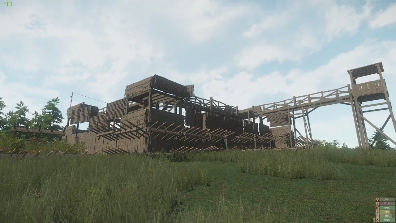 Miscreated - Base Showcase  Fullout  U0026 Friends