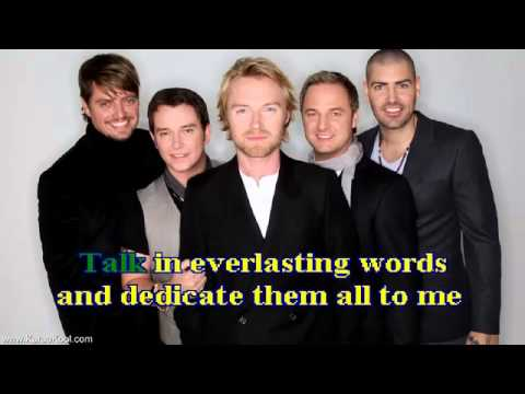 Boyzone words