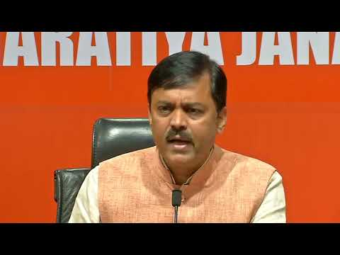 Media Briefing by Shri GVL Narasimha Rao at BJP Head Office, New Delhi : 20.04.2019