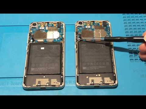 Xiaomi MI5 не включается после падения. Reball CPU/RAM