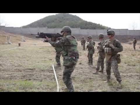 Marines Participate in Korean Marine Exchange Program 2013