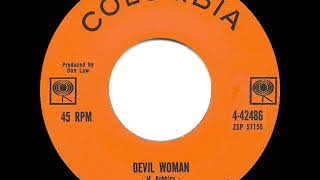 1962 HITS ARCHIVE: Devil Woman - Marty Robbins (#1 C&W hit)
