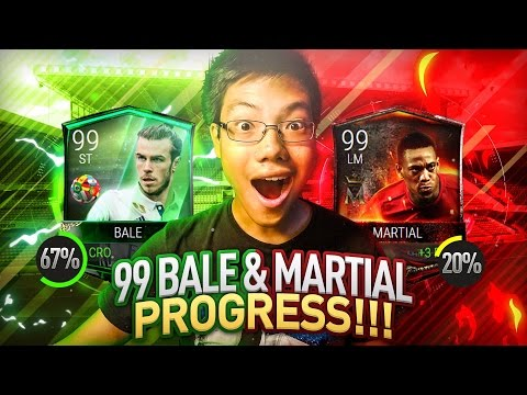 *NEW* TEAM HEROES!! 99 BALE + 99 MARTIAL PROGRESS!! ST. PATRICK'S DAY PLANS | FIFA MOBILE