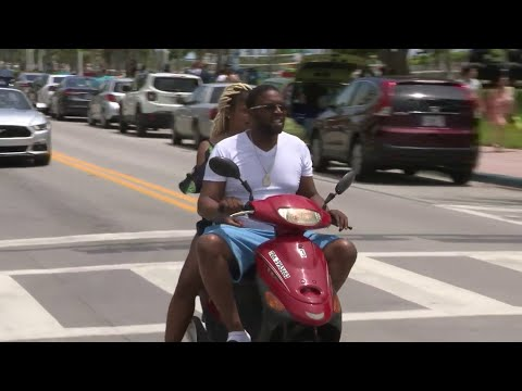 Miami Beach Commissioners Approve Ban On Scooters, Mopeds During Spring Break