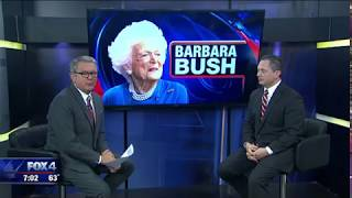 Jeff Engel remembers Barbara Bush