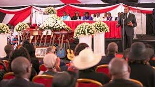 Joseph kamaru burial Uhuru Kenyatta speech