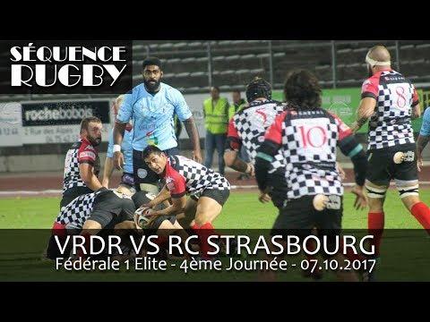 Sequence Rugby F1 Elite 4ème Journée VRDR   STRASBOURG
