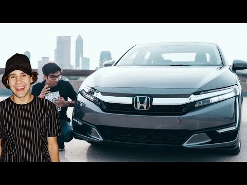 David Dobrik Views Tour and the Honda Clarity