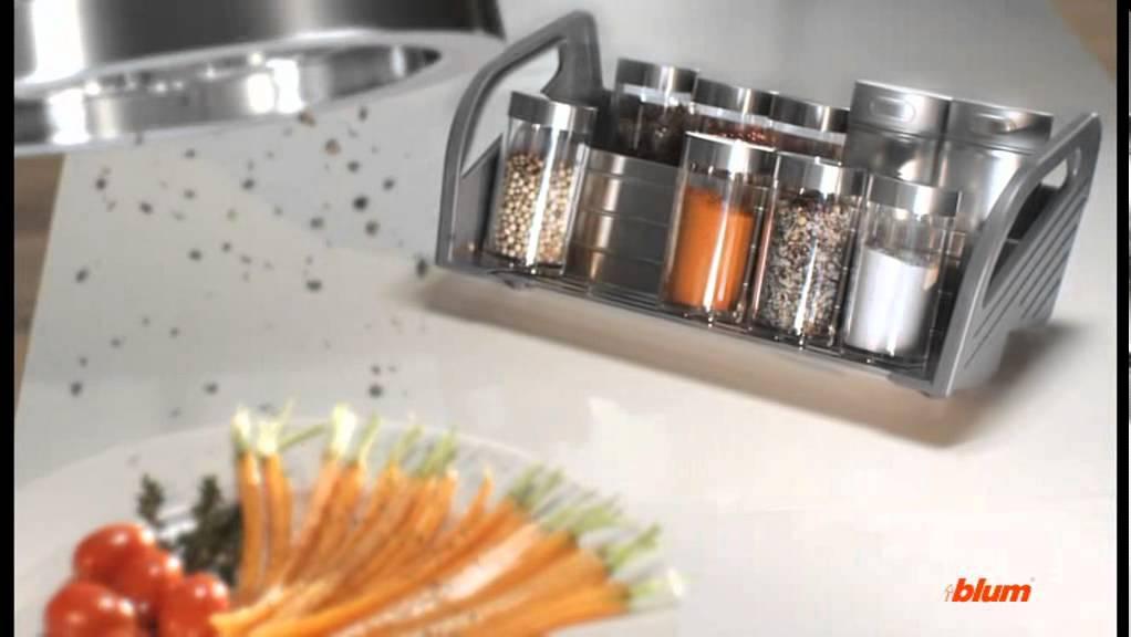 Los distintos productos de la l nea orga line de blum for Accesorios para cocina a gas