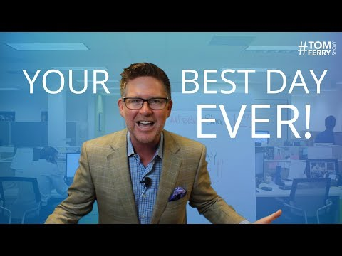 Daily Schedule for Successful Real Estate Agents | #TomFerryShow Episode 27