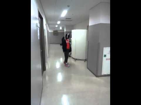 20111221_しーちゃん盗撮:RinoJ練習(なっちゃん通過)