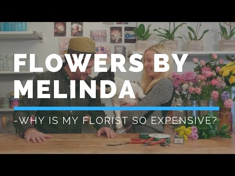 Hooked Weddings Episode 1.6 Why is my florist so expensive?