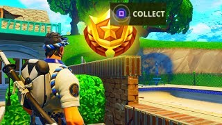 SECRET BATTLE STAR WEEK 7 LOCATION! (Fortnite: Battle Royale) [Road Trip Challenges] - SEASON 5