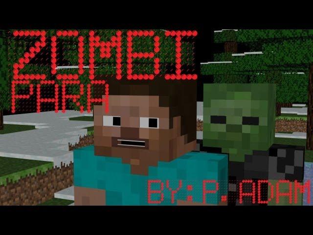 Pálvölgyi Ádám - Zombi Para Minecraft animáció, Zombie Mischief Minecraft Animation