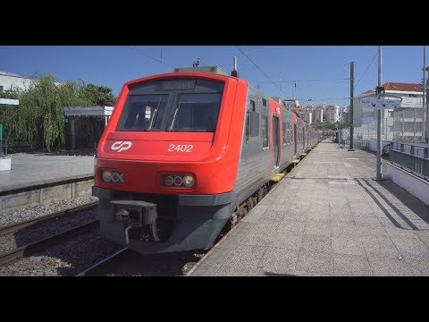 Portugal, Lisbon, train ride from Algueirão–Mem Martins to  Sintra