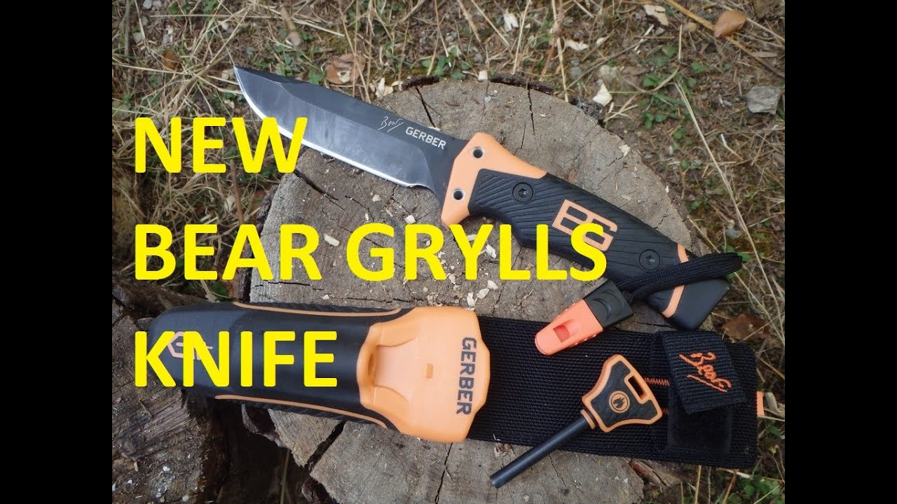 Bear Grylls Ultimate Pro Knife - Tested out in the field