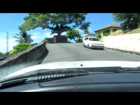 Montserrat - Most of the drive - Fox's Bay - Tropical Mansion Suites