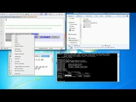 PostgreSQL - SQL Shell - Import Csv File Using Cmd