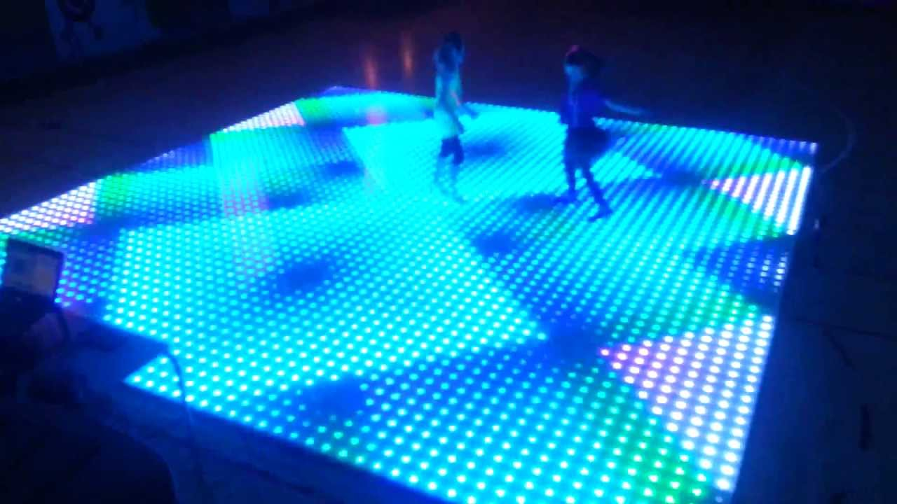 Lighted Dance Floor Gurus Floor
