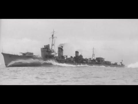 Japan WW2 ship Shigure (1936) Image HD - Japon WW2 navire Shigure (1936) Image HD