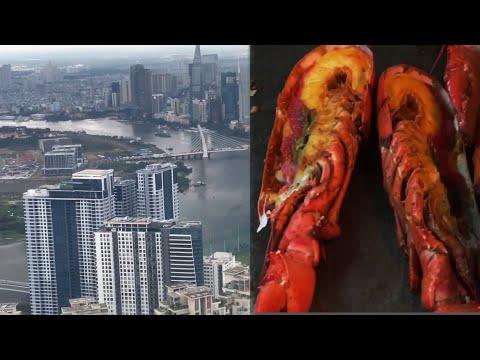 Ăn trưa Buffet Vinpearl Luxury Landmark, Sài Gòn từ trên cao rất đẹp   Huyền Nguyễn Cuộc sống mới