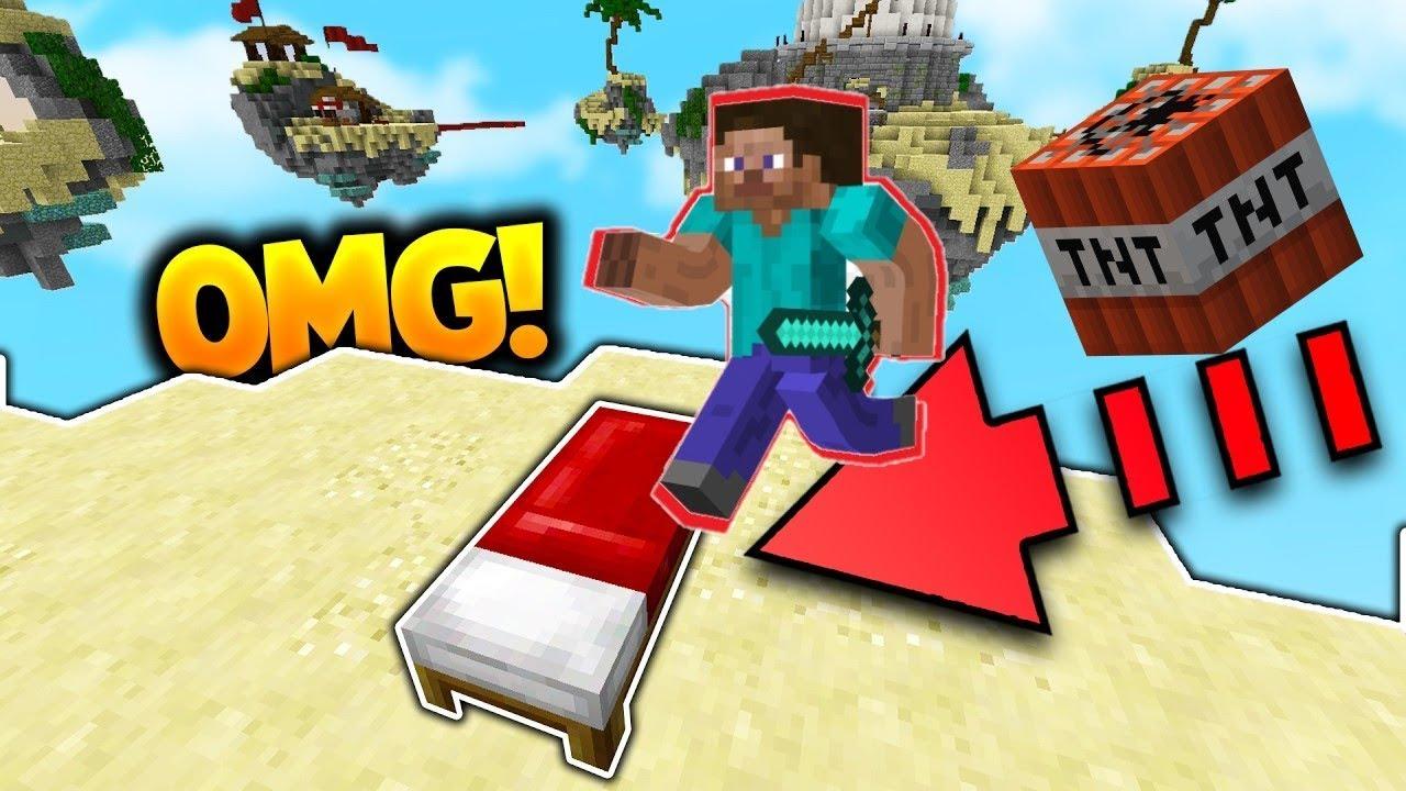 Minecraft Bedwars - TNT Montage!