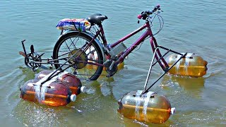 Electric Bike Became An Aqua-Bike ⚓️ It's Real !