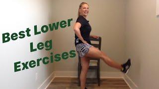 30 min easy to follow best leg strengthening exercises for weak knees/hips - for seniors/beginners