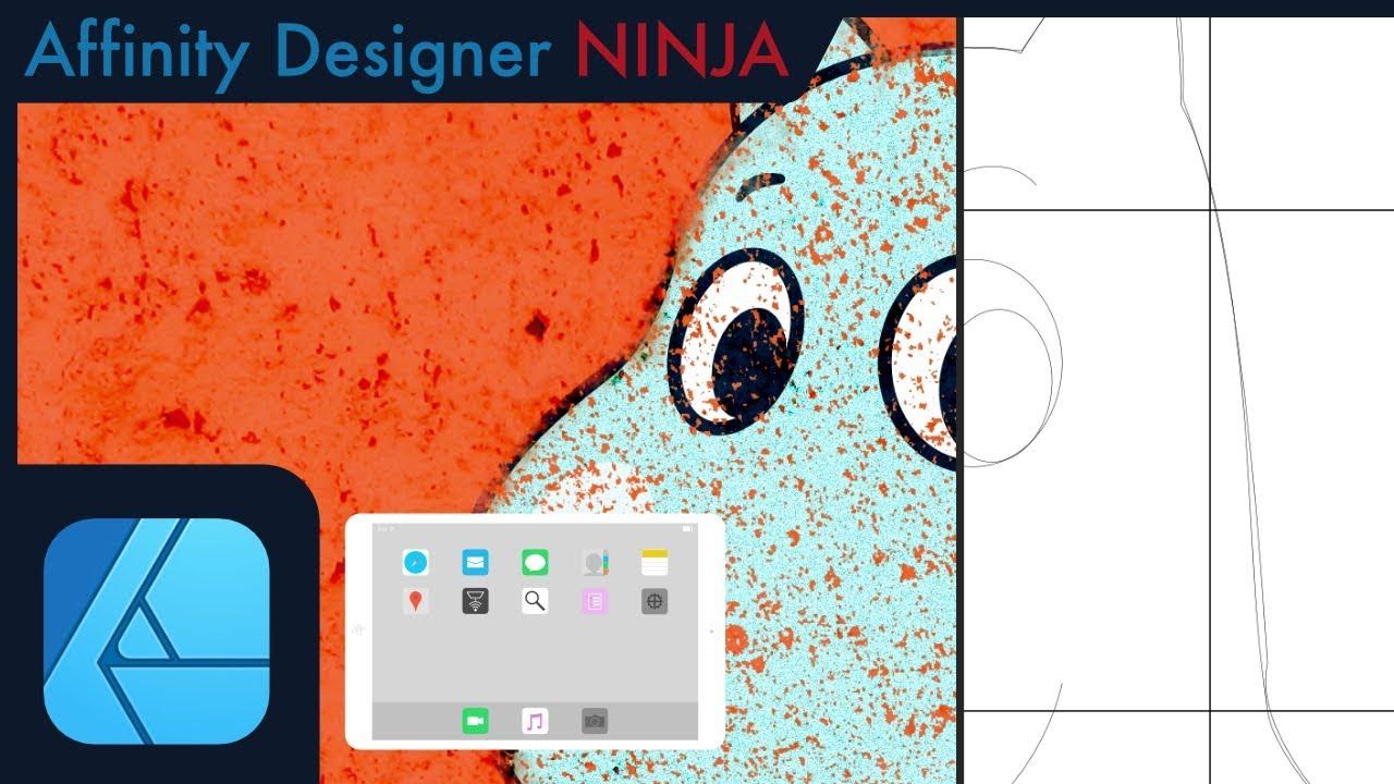 全てベクター アナログイラストをaffinity Designerで描く方法