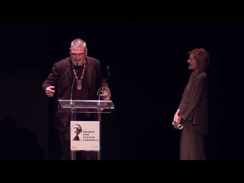 Kase.O rapea en los Premios Labordeta 2017