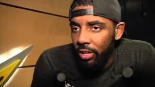 What is disappointing Kyrie Irving as he watches the Cavs?