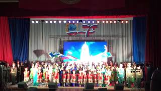 Смотреть видео Россия 🇷🇺 Муниципальный район Волжский концерт День Защитника Отечества Рощинский онлайн
