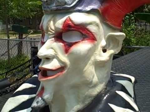 SlipKnoT Jim Root Jester Mask - YouTube