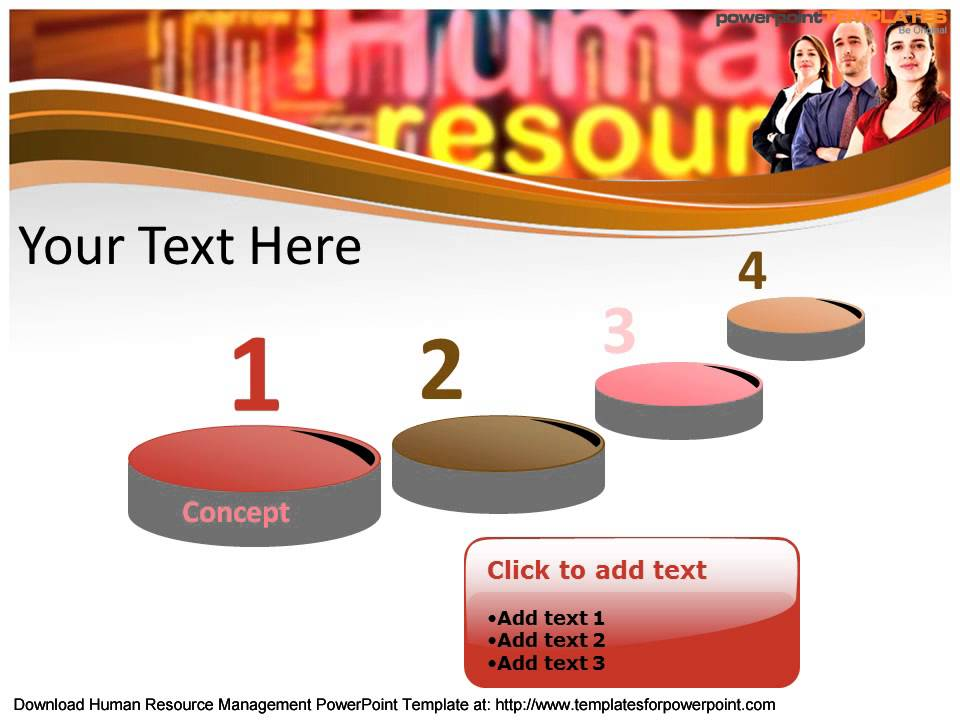 Human resource management powerpoint template human resource management powerpoint template templatesforpowerpoint youtube toneelgroepblik Images