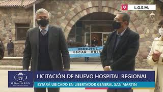 #EnVivo | Acto licitación del nuevo hospital regional de Libertador General San Martín