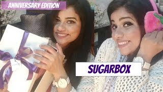 SUGARBOX 3rd ANNIVERSARY EDITION UNBOXING | TheLifeSheLoved | Sana K